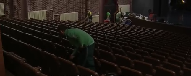 Nastavljeno uređenje Pozorišne sale u Staroj Pazovi