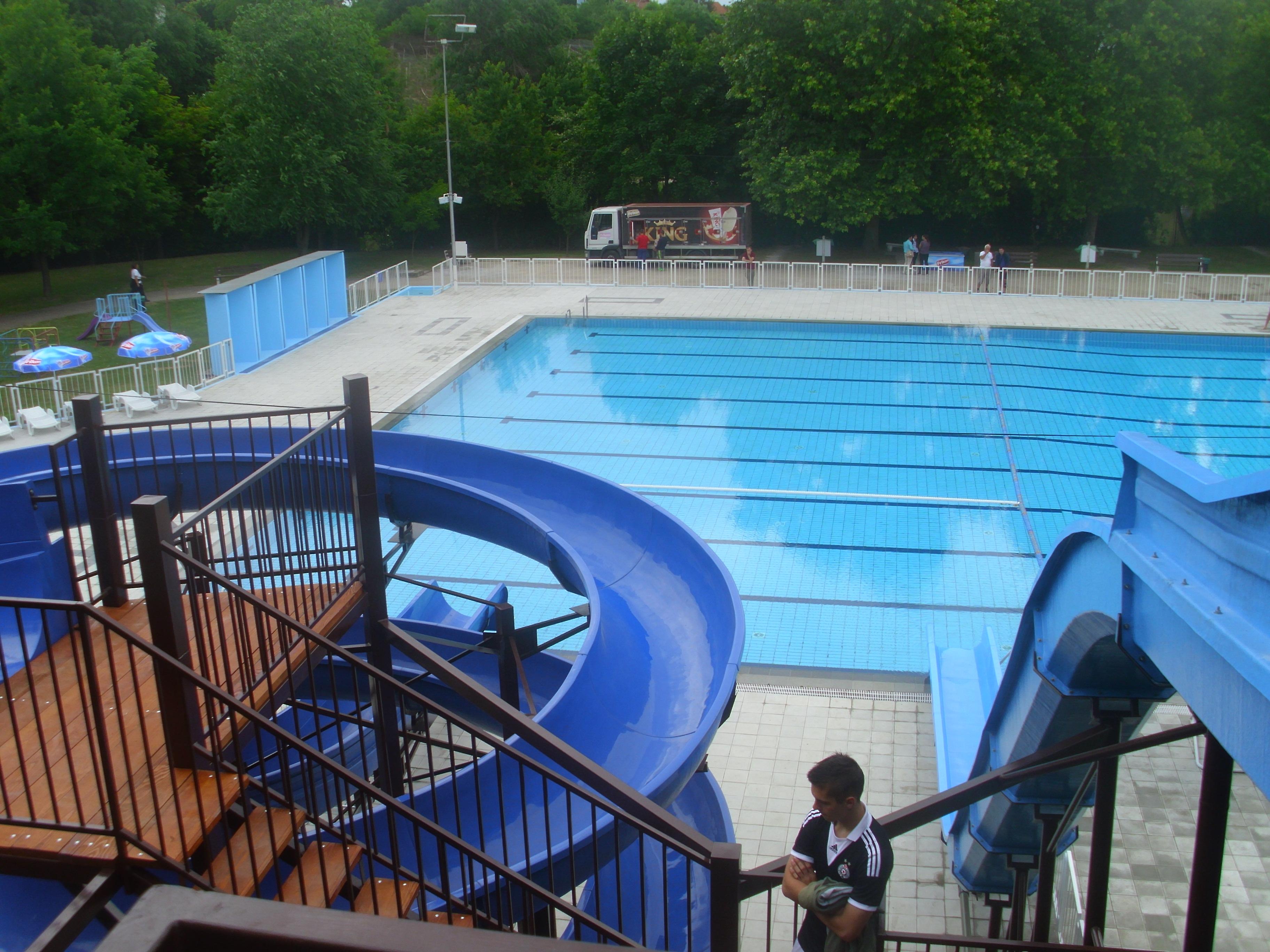 Druga faza uređenja gradskog bazena u Inđiji