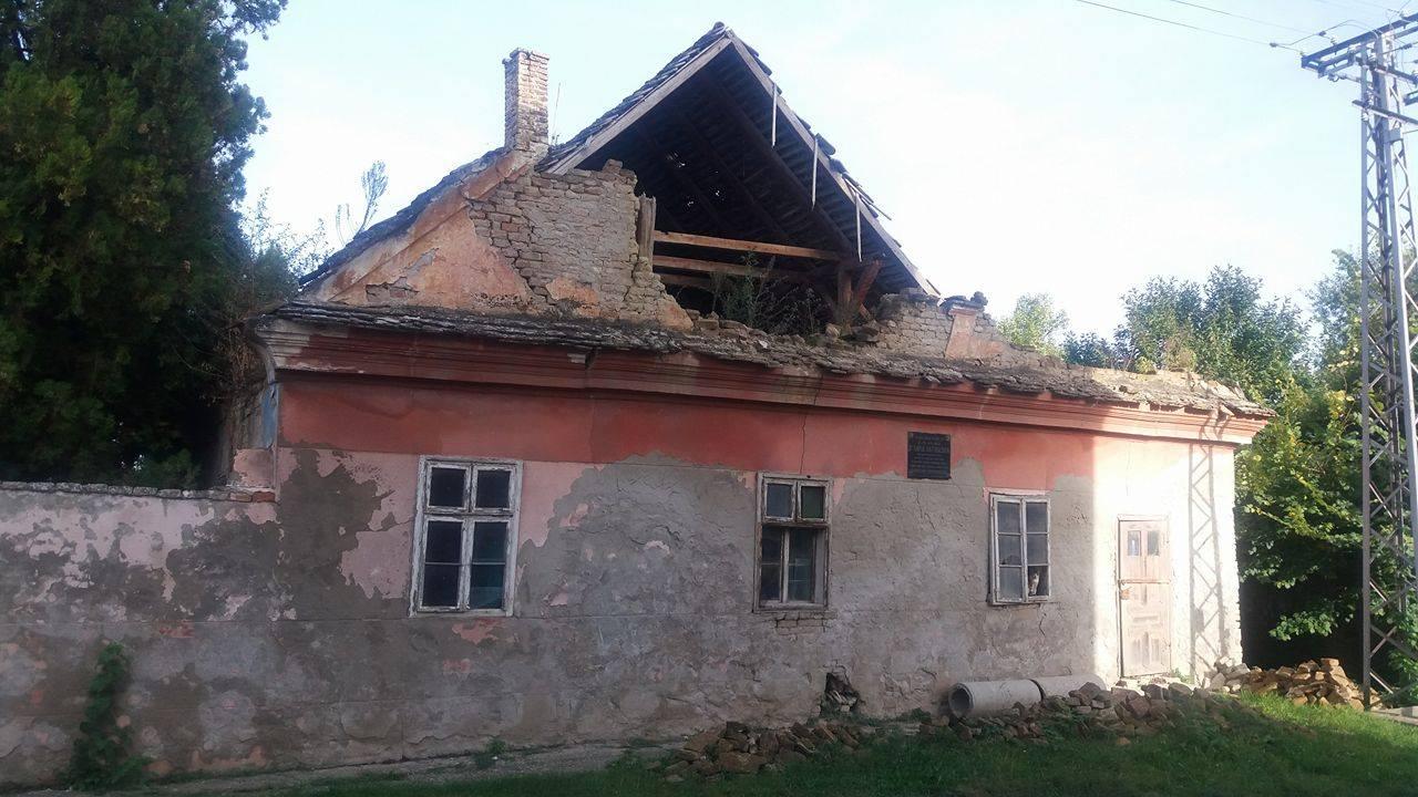 Rodna kuća Natoševića-ruina na obali Dunava