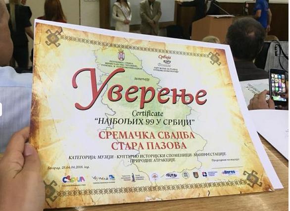 Sremačka svadba među najboljima u Srbiji