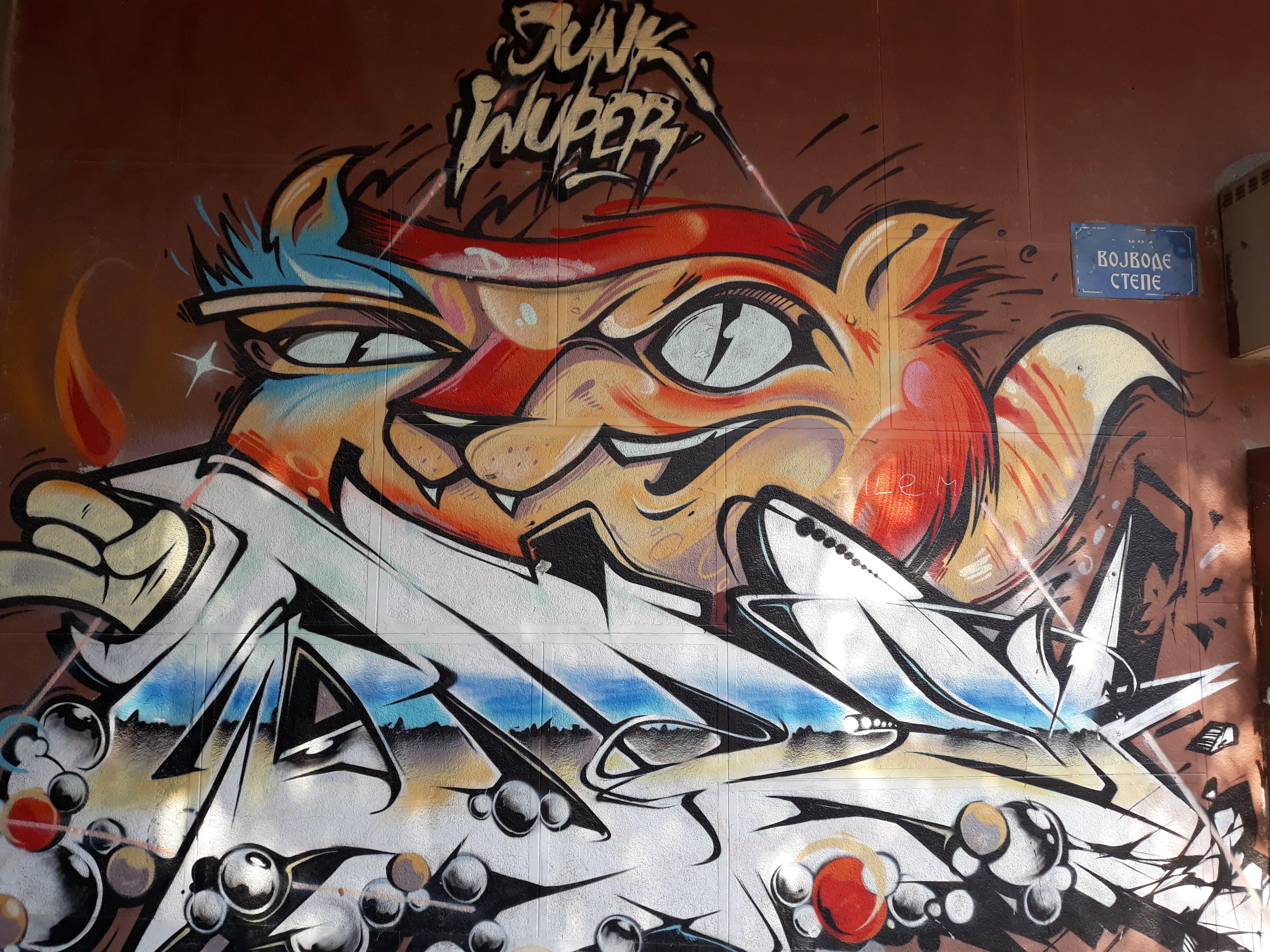 MURALI I GRAFITI: Umetnička dela koja osvežavaju grad