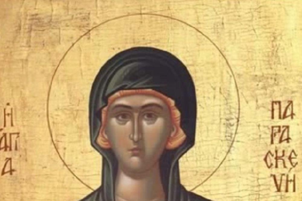 Danas je SVETA PETKA-zaštitnica žena i svetiteljka