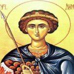 Danas je praznik svetog velikomučenika Dimitrija-MITROVDAN