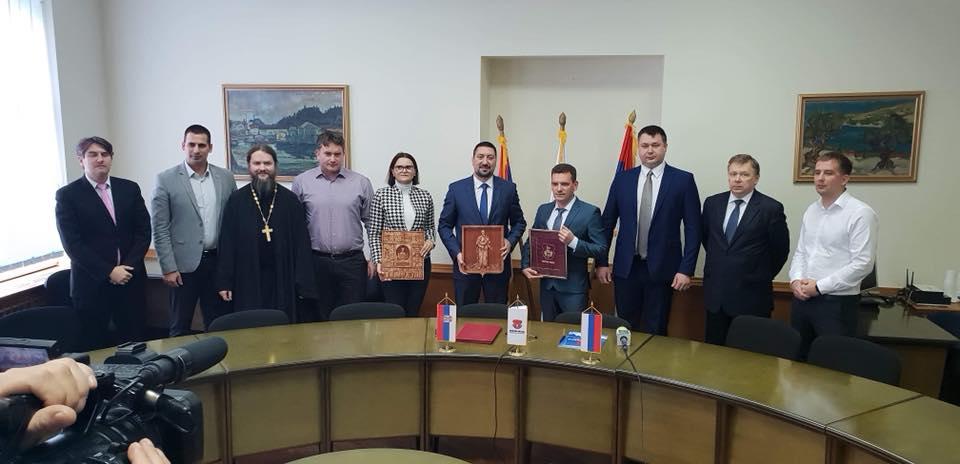 Memorandum o saradnji opštine Inđija i opštine Pavlovsk iz Rusije