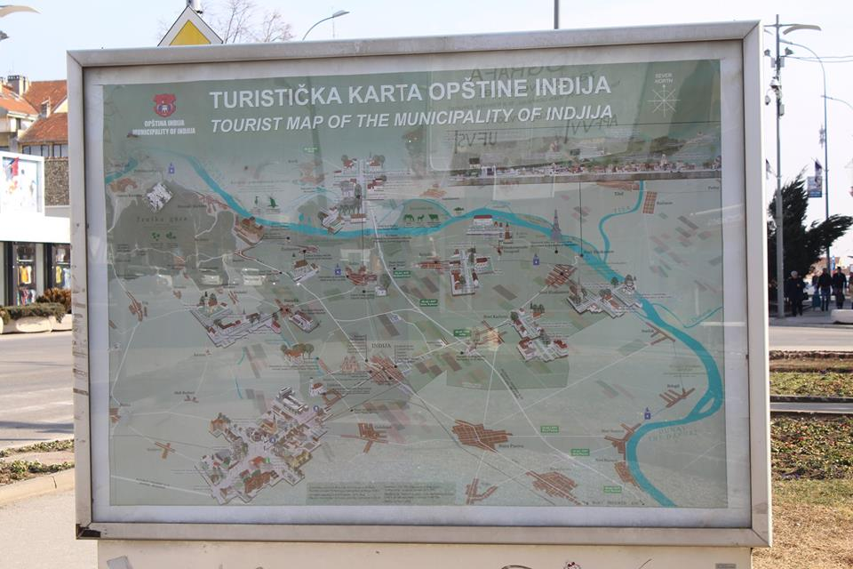 Promocija Inđije Nova Turisticka Karta U Centru Grada Pazova