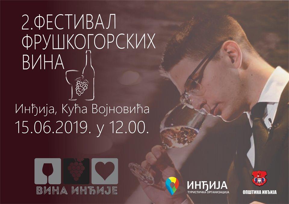 FESTIVAL FRUŠKOGORSKIH vina u Inđiji otvara najbolji somelijer Balkana-VUK VULETIĆ