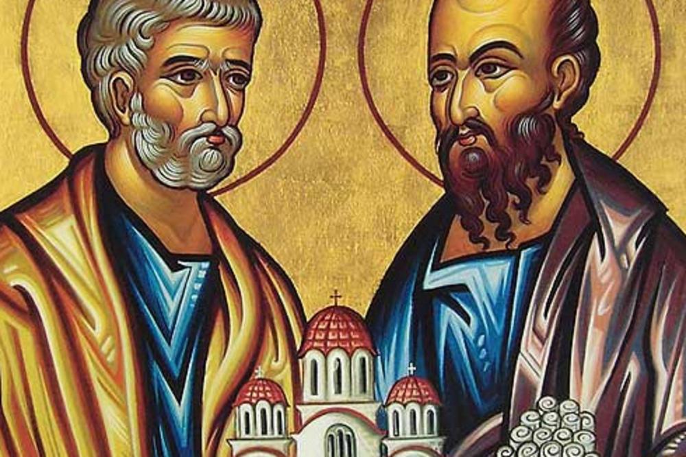 DANAS JE VELIKI PRAZNIK PETROVDAN: Dan svetih apostola Petra i Pavla