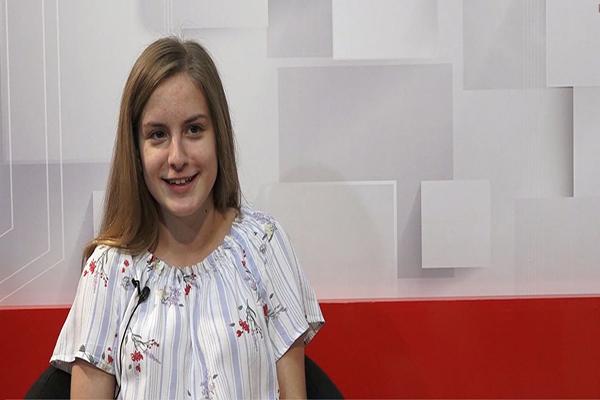 BRAVO: Devojčica iz Stare Pazove jedina predstavnica Balkana na samitu u Americi
