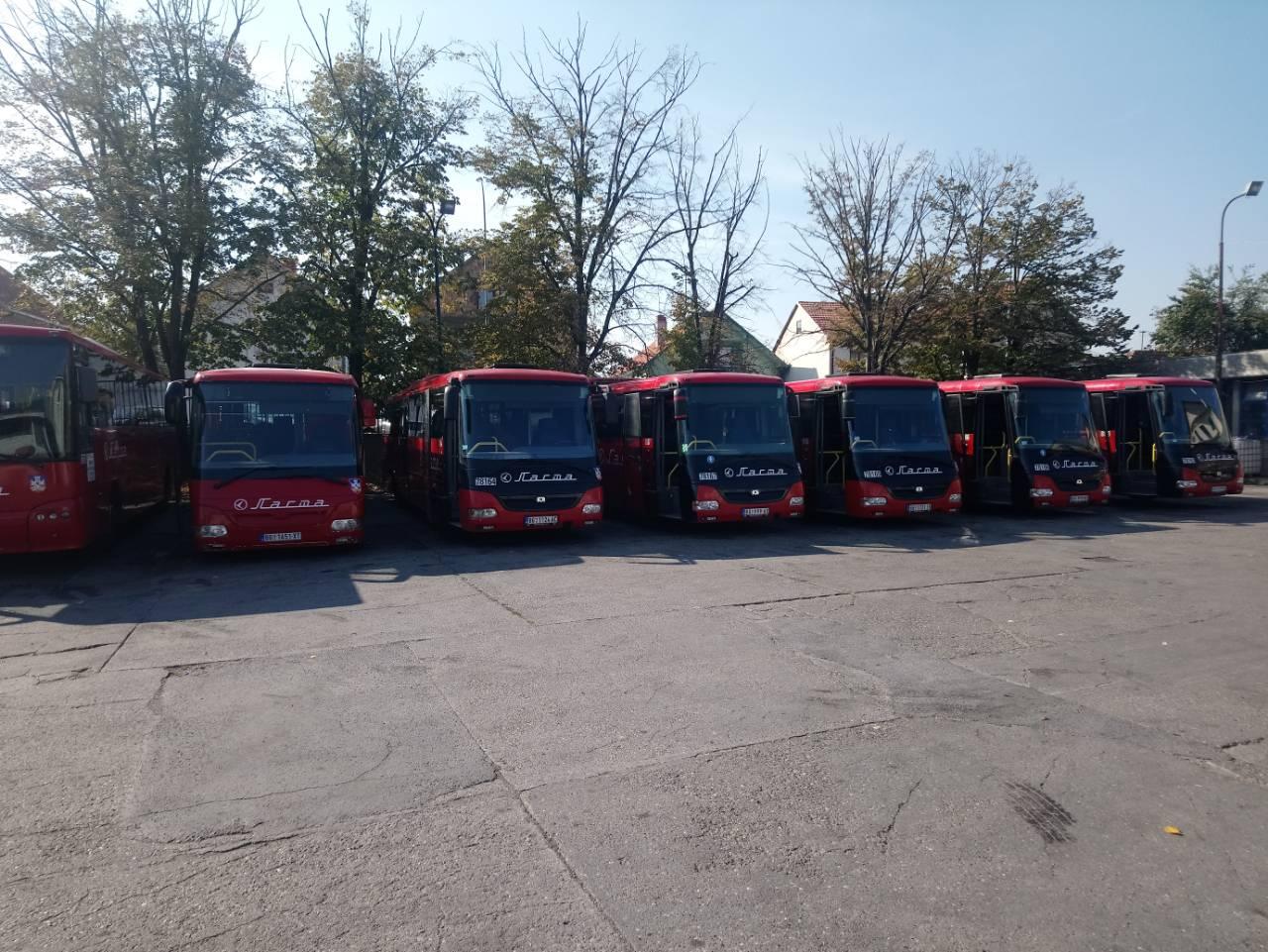 INĐIJA dobila sedam novih autobusa za javni prevoz