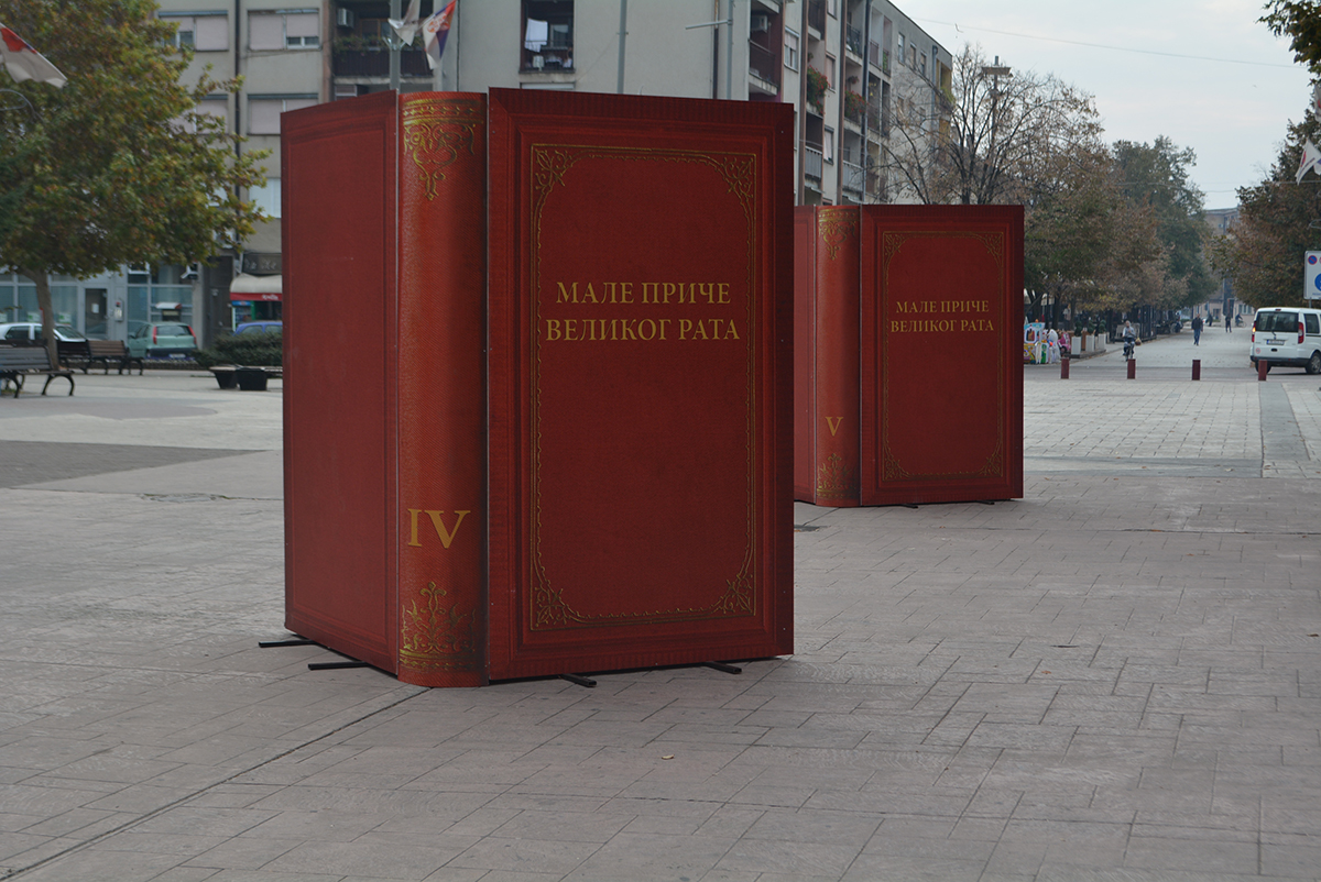 """U SUSRET MITROVDANU: Izložba """"Male priče Velikog rata"""" na šetalištu u Inđiji"""