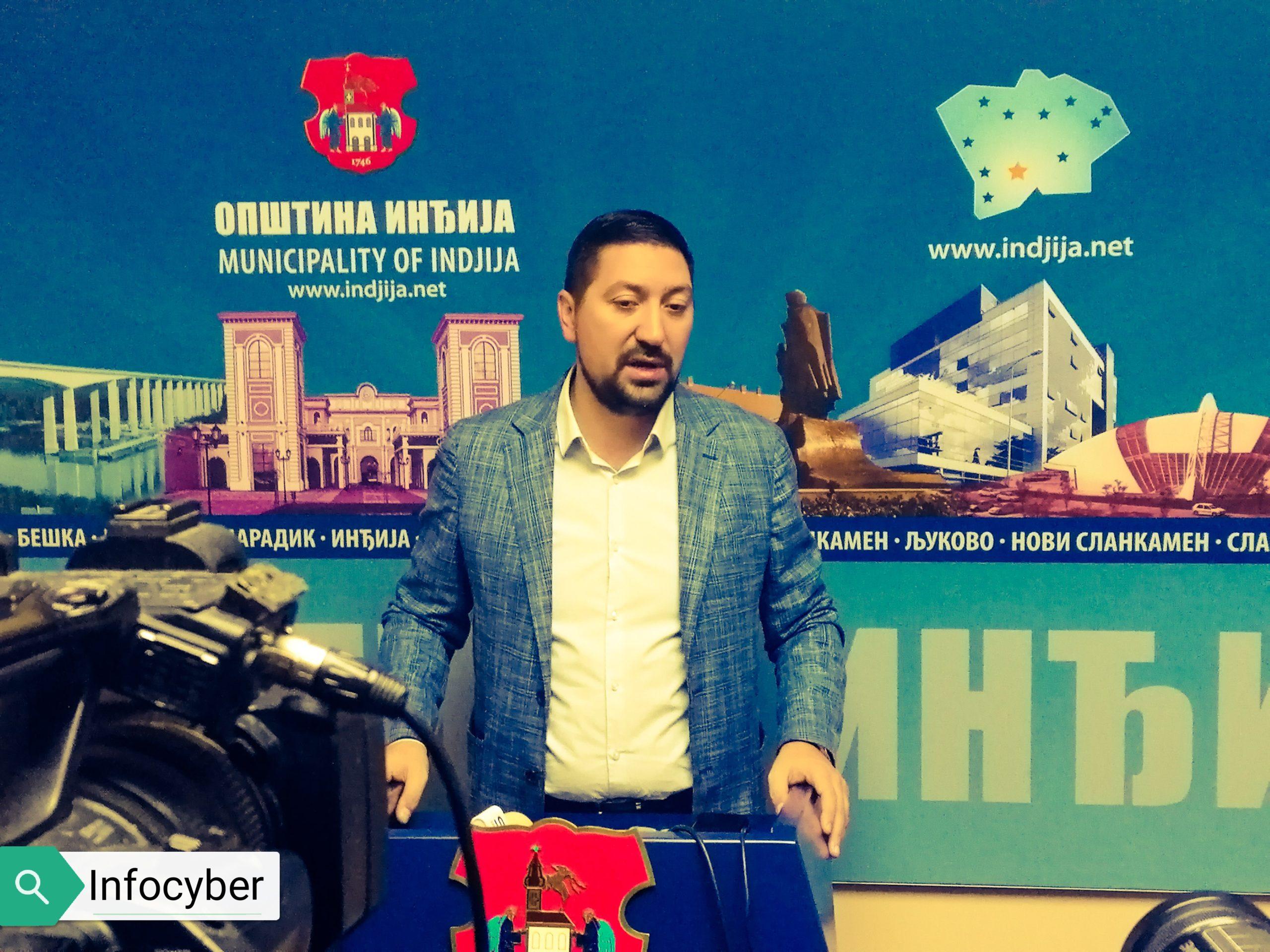 INTERVJU Vladimir Gak-predsednik opštine Inđija