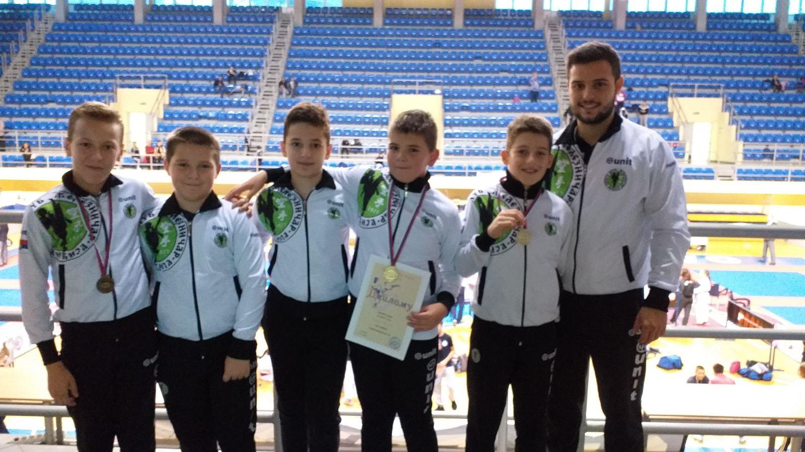 """""""Željini"""" karatisti ponovo pokazali da su u vrhu karate sporta u Srbiji"""