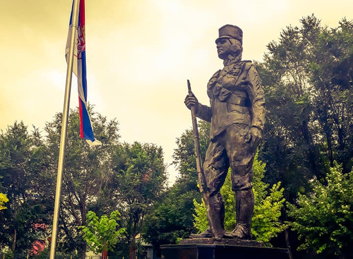 Proslava na Mitrovdan povodom Dana oslobođenja Inđije u Velikom ratu