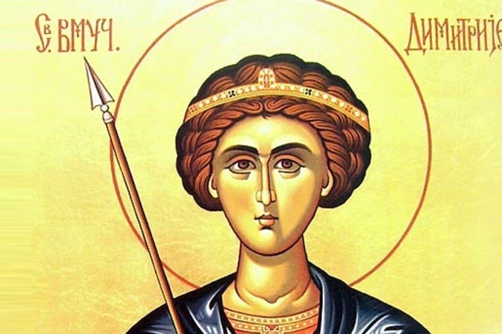 Danas je Sveti velikomučenik Dimitrije-MITROVDAN