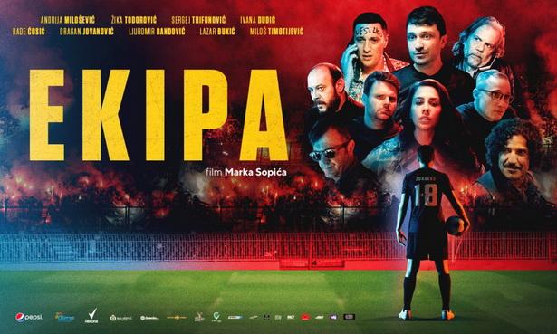 """Domaći filmski hit """"EKIPA"""" u bioskopu Kulturnog centra Inđija"""