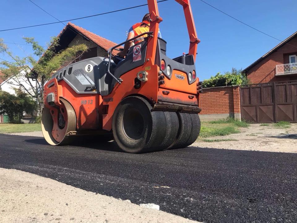 U 2020. godini se nastavlja veliki projekat ASFALTIRANJA neasfaltiranih ulica