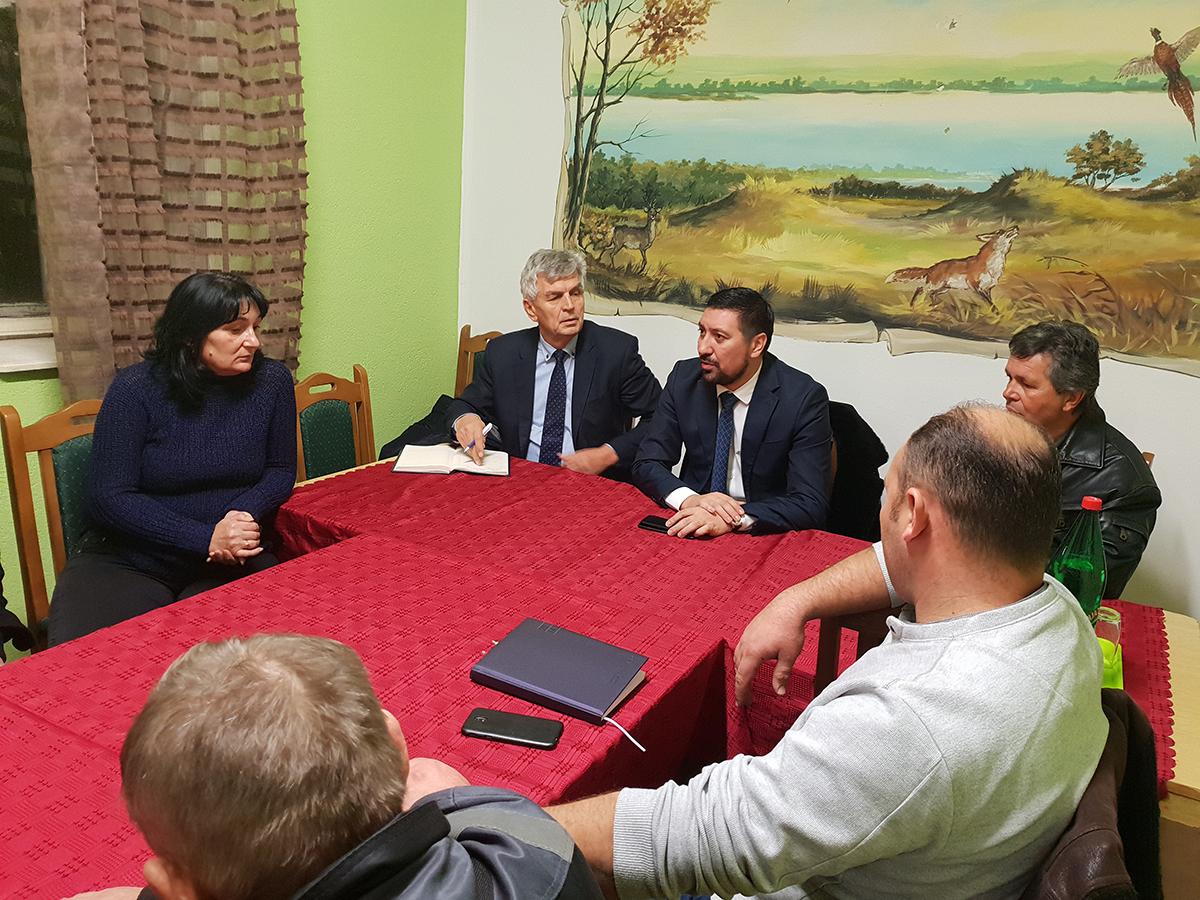 Prvi čovek opštine posetio Čortanovce, Bešku i Krčedin-ovo su planovi za 2020. godinu