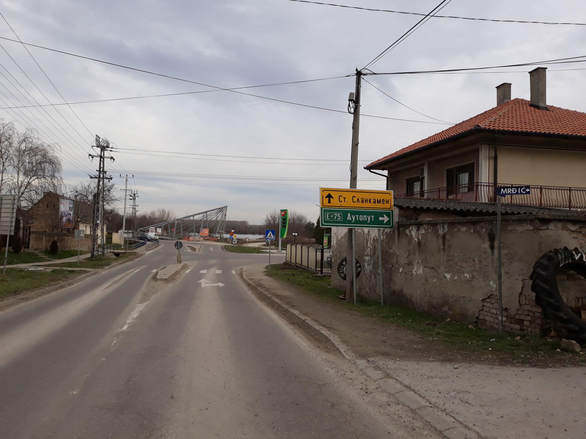 RADOVI U TOKU Put Stara Pazova-Stari Banovci zatvoren do kraja decembra