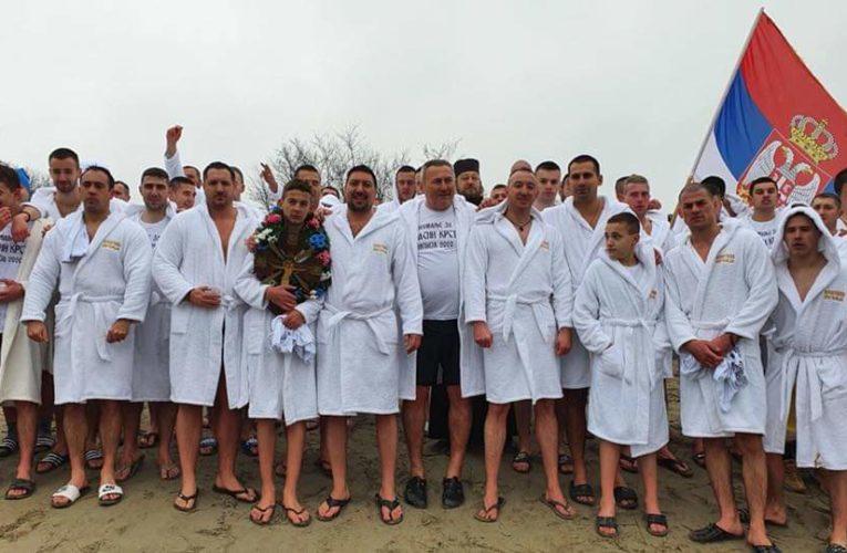 Sutra dodela priznanja učesnicima Bogojavljenskog plivanja na Jarkovačkom jezeru