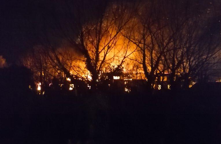 VATRENA STIHIJA PROGUTALA KRZNARU: Vatrogasci se junački izborili sa vatrom