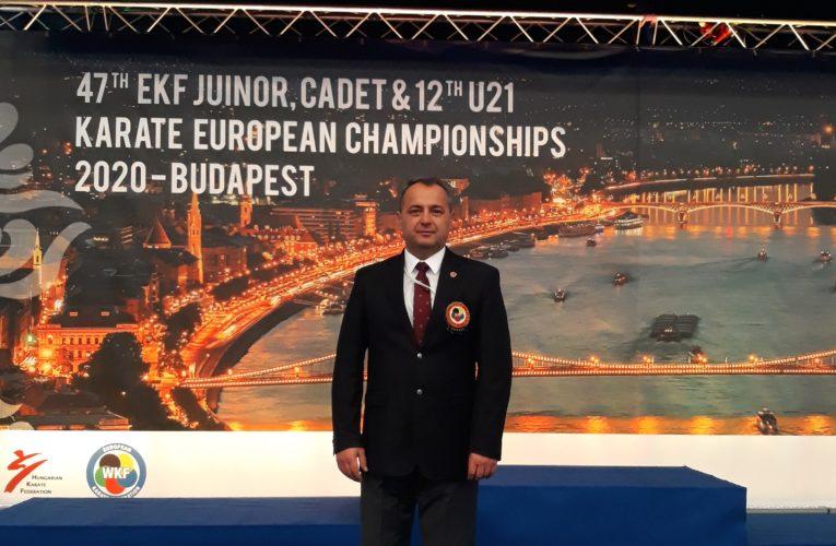 Svetski karate sudija iz Inđije uspešan na Evropskom prvenstvu u Mađarskoj