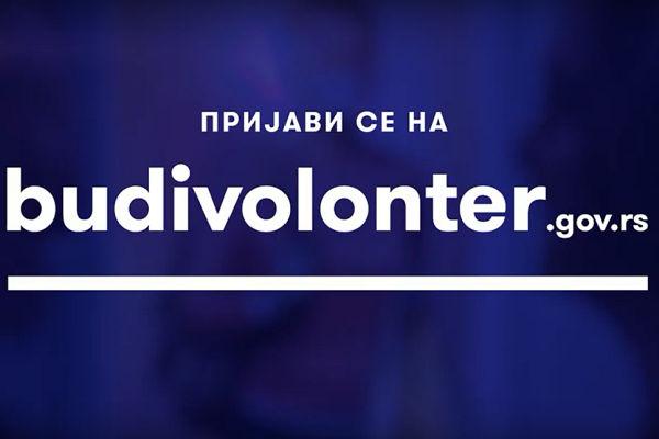 Budi volonter, pomozi komšiji, prijavi se na budivolonter.gov.rs!