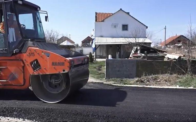 AKTUELNO Počelo asfaltiranje u Krnješevcima