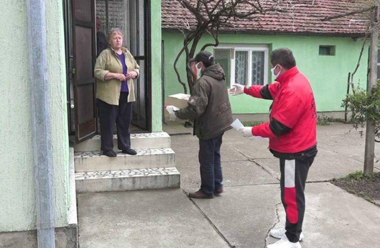 U opštini Stara Pazova u toku podela 10.000 paketa pomoći