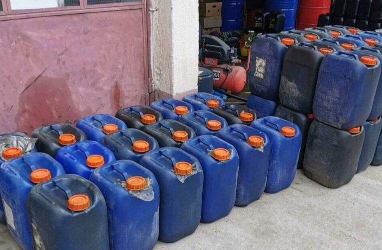 Zaplenjeno 52.400 litara goriva-uhapšen osumnjičeni