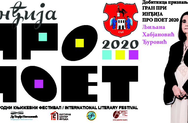 """""""INĐIJA PRO POET 2020."""" Međunarodni književni festival od 1. do 4. juna"""
