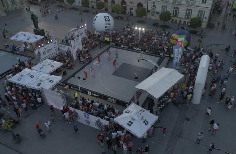 "SPORTSKI DOGAĐAJ U CENTRU: U subotu ""3×3 basket"" u Inđiji"
