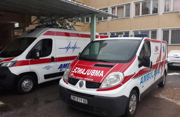 NOVA COVID AMULANTA Povećan broj obolelih u Inđiji (VIDEO)