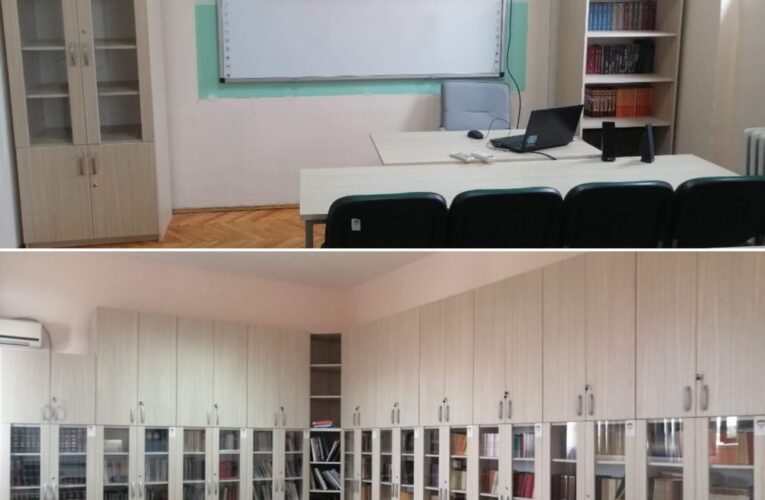 """Biblioteka """"Gimnazije"""" u Inđiji u novom ruhu"""