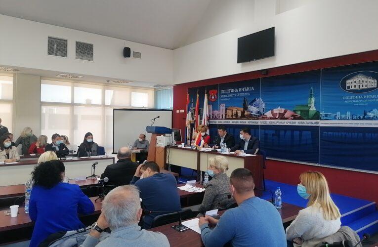 SKUPŠTINA OPŠTINE INĐIJA Danas održano 4. zasedanje lokalnog parlamenta