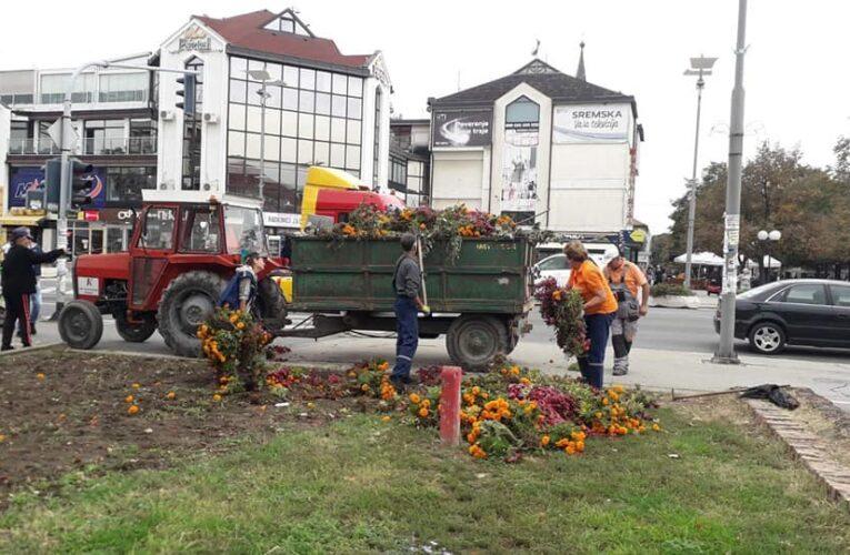 AKTIVNOSTI KOMUNALCA: Uređenje i čišćenje inđijske opštine