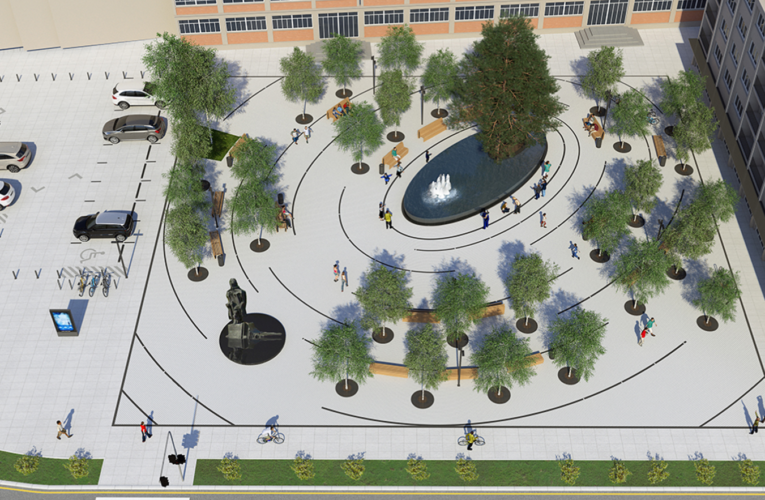 PRVI PROJEKAT U 2021: Rekonstrukcija Trga u centru Inđije