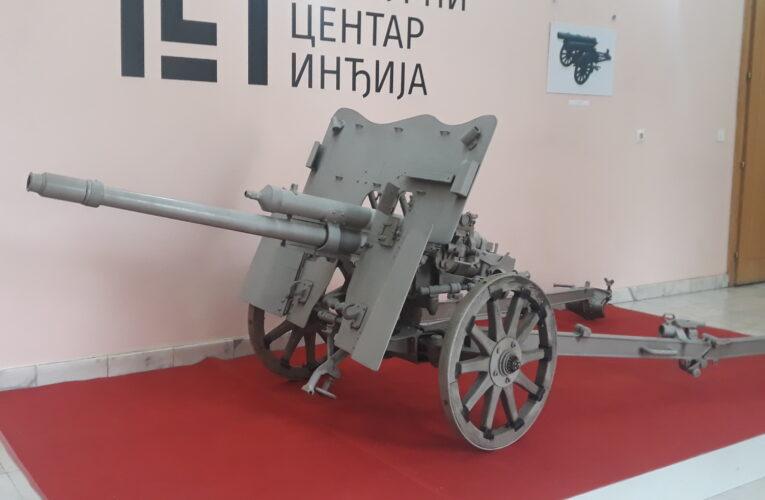 """IZLOŽBA """"Oružje naših pobeda 1914-1918.""""u Kulturnom centru Inđija do 16. novembra"""