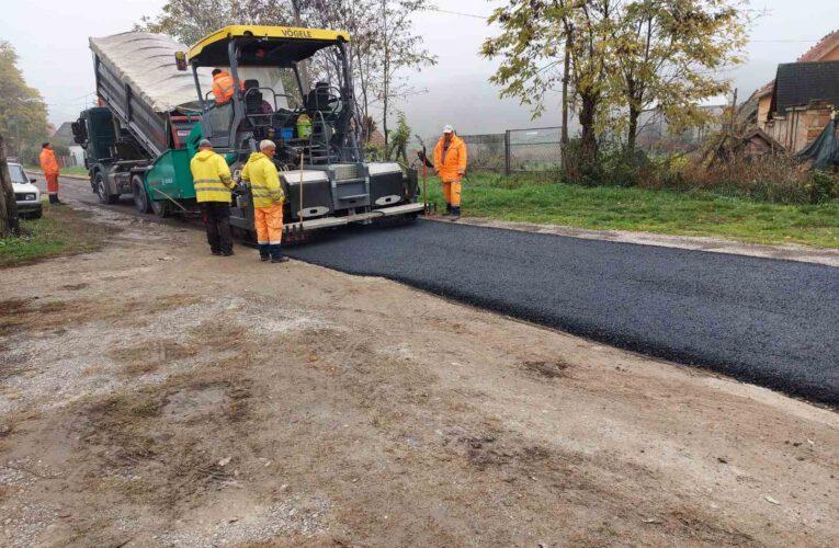 ČORTANOVCI dobili još jednu asfaltiranu ulicu