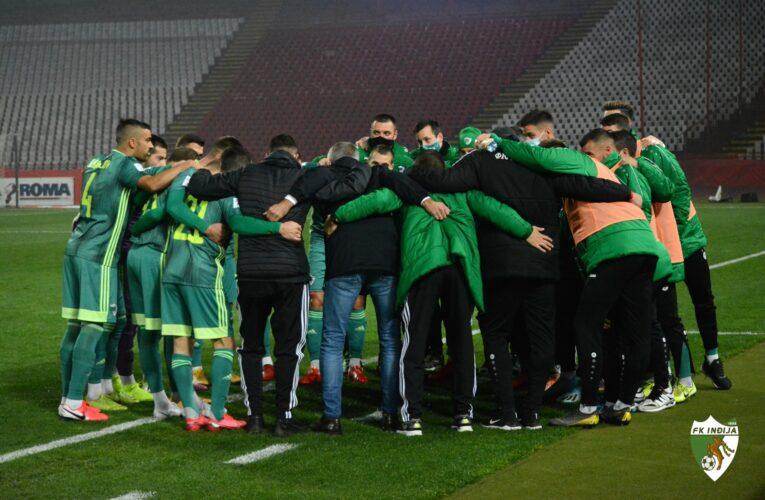 Fudbaleri Inđije sutra dočekuju Radnički iz Niša