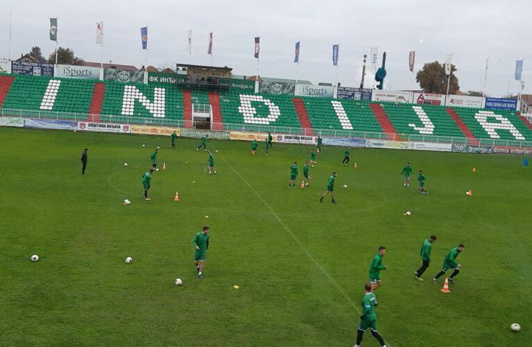 Fudbaleri Inđije savladali sa 1:0 Radnički iz Niša