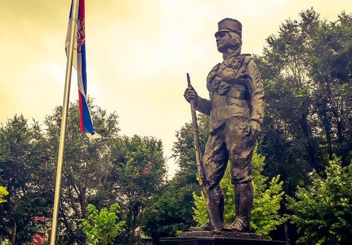 102 GODINE OD OSLOBOĐENJA: Polaganje venaca na spomenik Milunki Savić