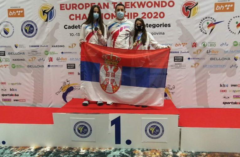 SREBRO I BRONZA za inđijske tekvondoiste na Evropskom prvenstvu za kadete