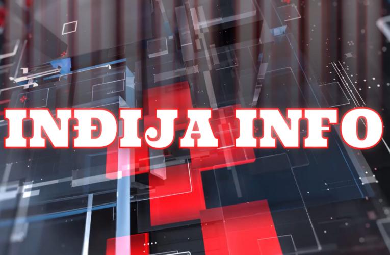 """PREMIJERA: Svakog petka u 18 časova NOVA EMISIJA """"Inđija info"""""""
