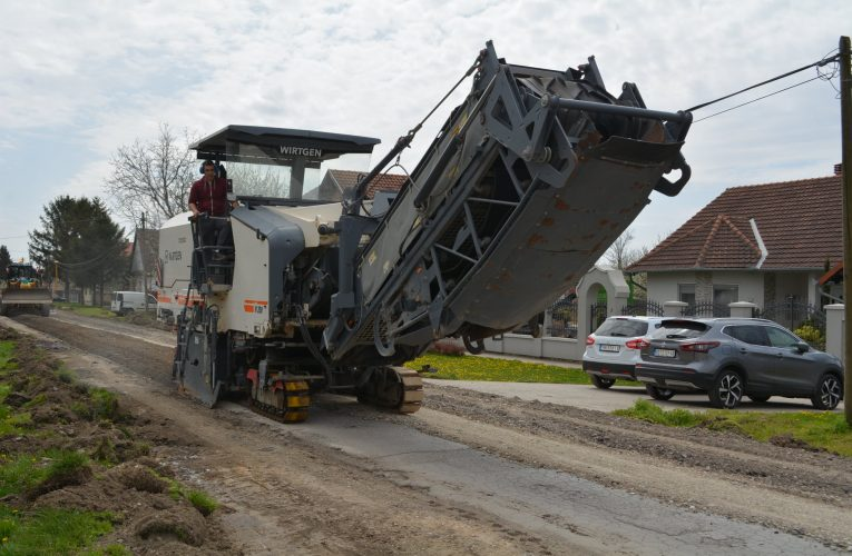 NOVI SLANKAMEN: Počela kompletna rekonstrukcija ulice Vuka Karadžića