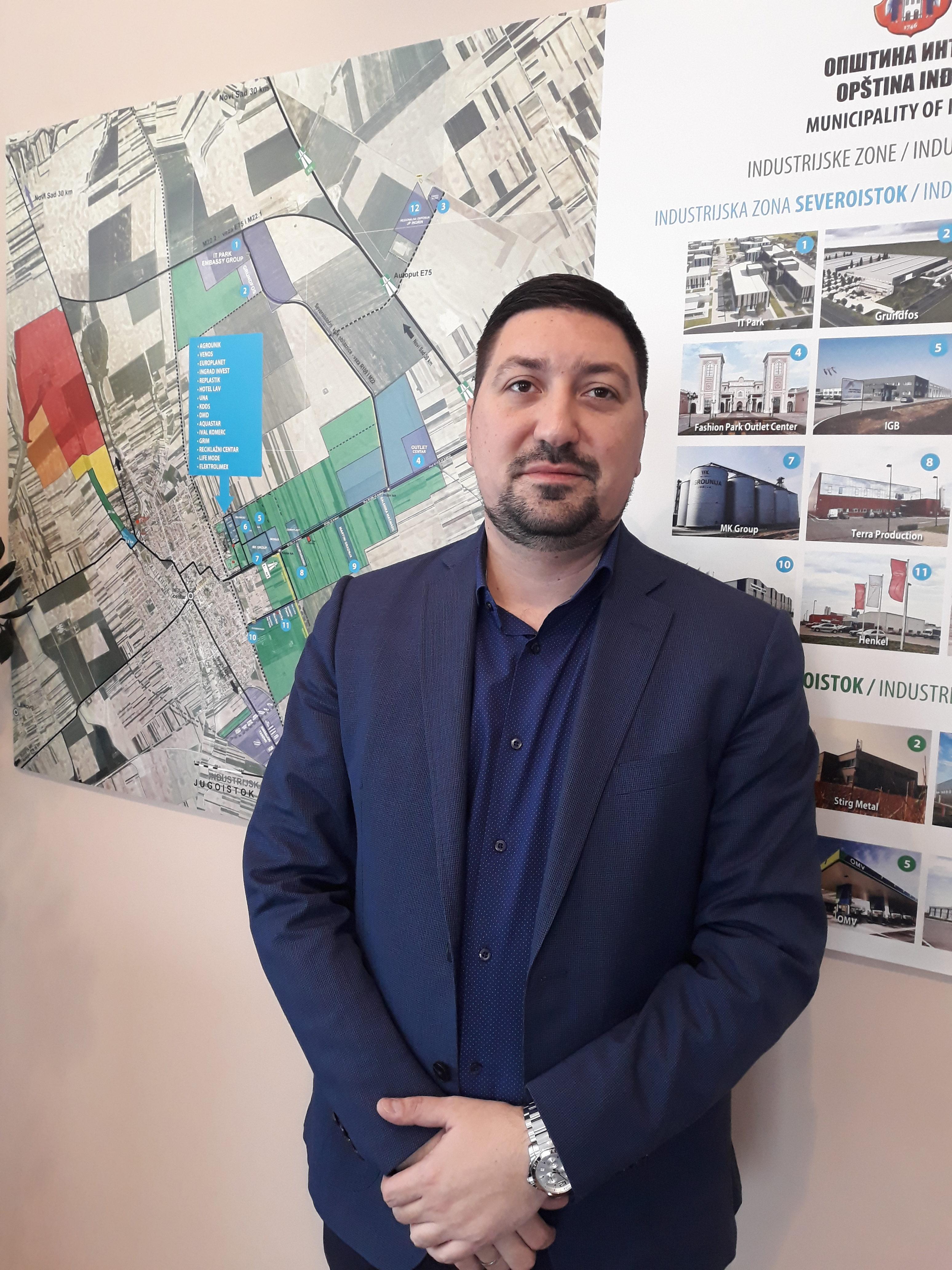 Intervju: Vladimir Gak, predsednik opštine Inđija