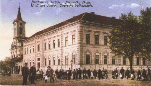 Prvo privatno zabavište u Inđiji 1900.godine