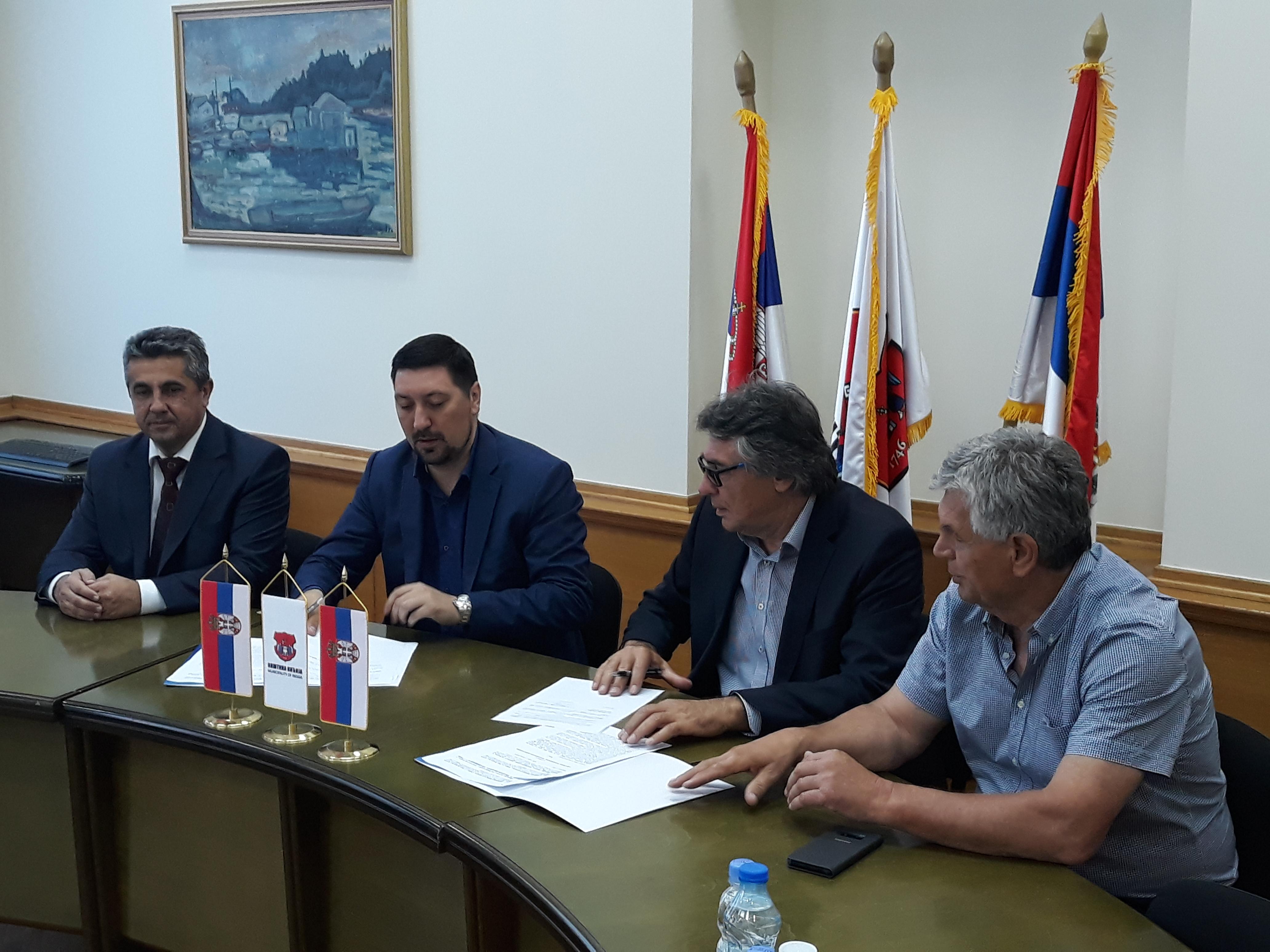 POTPISAN UGOVOR: Zlatibor gradnja kupila zemljište u Inđiji-70 radnih mesta