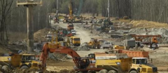 AKTUELNO: Najveće gradilište na potezu kod Čortanovaca (FOTO)