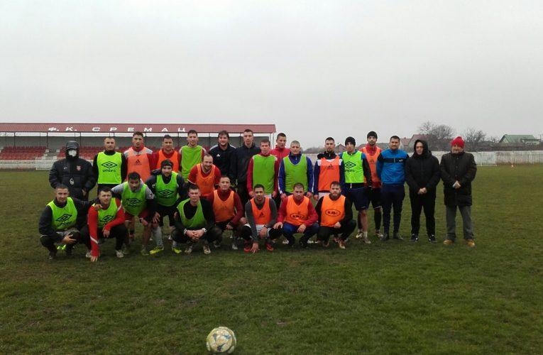 Fudbaleri Sremca iz Vojke spremni za borbu u Vojvođanskoj ligi