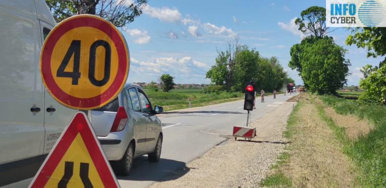 POSLE POLA VEKA: Počeli radovi na rekonstrukciji puta Novi Karlovci-Novi Slankamen